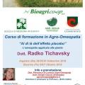 News - CORSI di FORMAZIONE in AGRO-OMEOPATIA: «AL DI LÀ DELL'EFFETTO PLACEBO». L'Omeopatia applicata alle Piante.