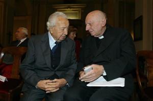 Il Prof. Negro con il Cardinale Thomas Spidlik
