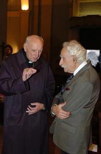 Card. Tomas Spidlik e Prof. Mario Giancotti