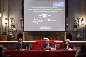 Prof. Carlo Ventura, Prof. Roberto Russo, Prof.ssa Maria Letizia Salvi - 70° Anno SIMOH -Roma