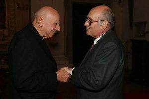 Con il Cardinale Tomas Spidlik presso la SIMOH